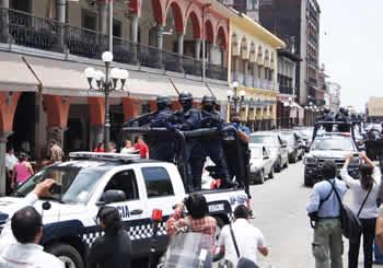 Operativos de vialidad regresan a las calles de Veracruz, México