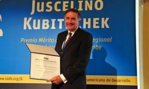 El BID recibe premio en materia de seguridad vial