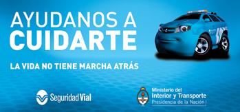Concientizaci n vial en argentina blog de la autoescuela for Ministerio del interior y transporte de la nacion