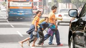 Los peatones y el trabajo para la transformación